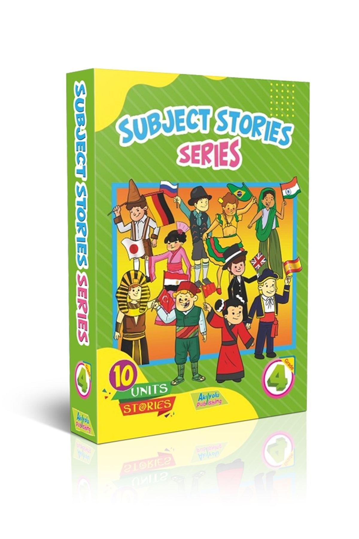 GRADE 4 - NEW OLYMPIAD ENGLISH+GOLD TEST+SUBJECT STORIES SERIES