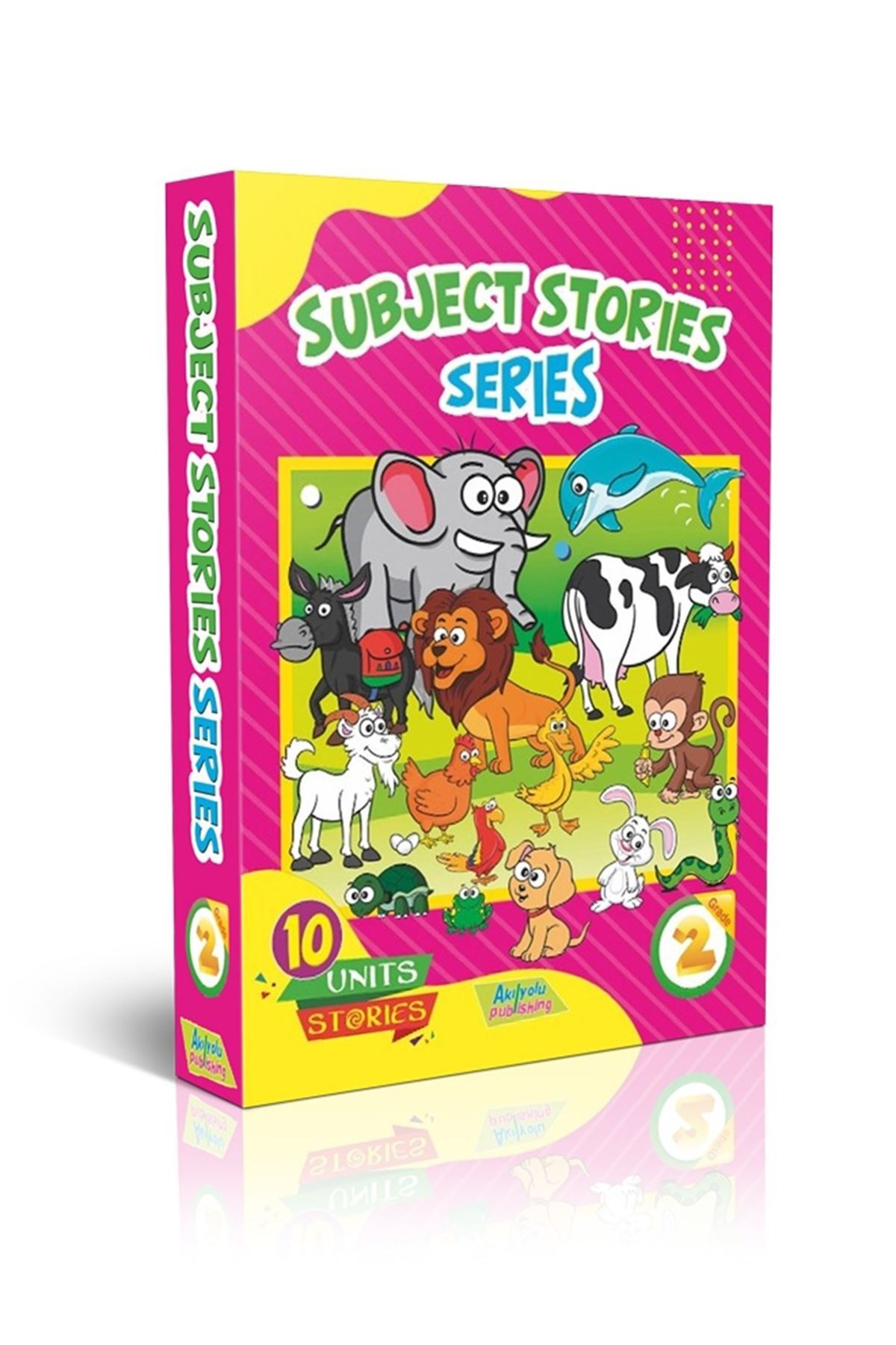 GRADE 2 - NEW OLYMPIAD ENGLISH+GOLD TEST+SUBJECT STORIES SERIES